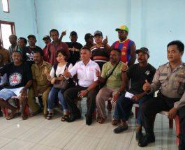 Sosialisasi dan Pembentukan IKAPPI Kota Sorong Unit Pasar Jembatan Puri. dok/net