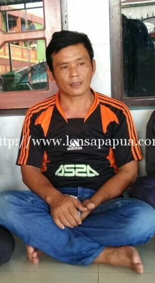 Asep Roni, warga Tasikmalaya yang terlantar di Kota Sorong. dok/red