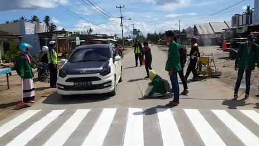 Satlantas Polres Sorong dalam sebuah kegiatan beberapa waktu lalu. Dok/res