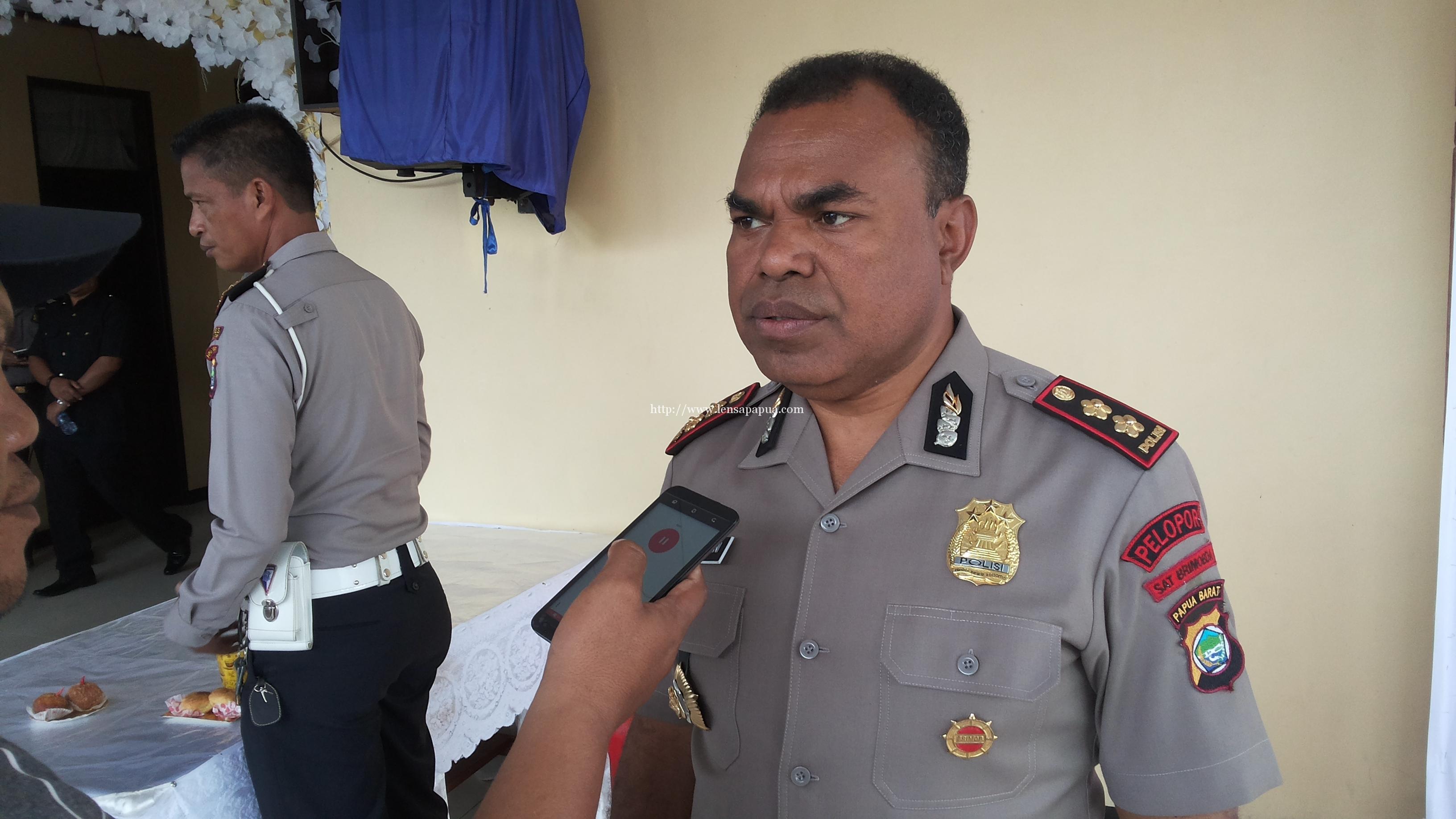 Kasat Brimob Polda Papua Barat, AKBP Jeremias Rontini. Dok/red