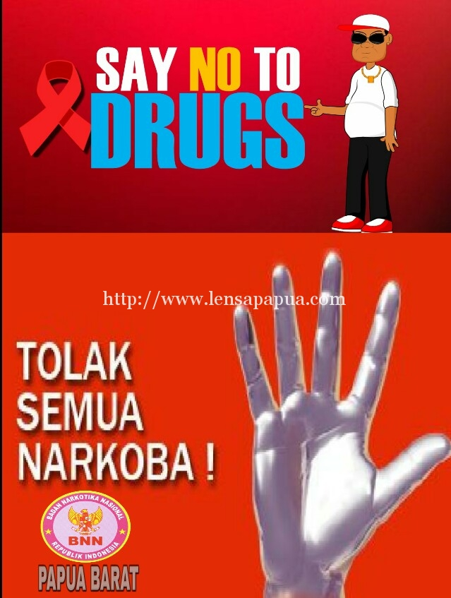 Bnnp Pb Ajak Masyarakat Tolak Narkoba Lensapapua Com
