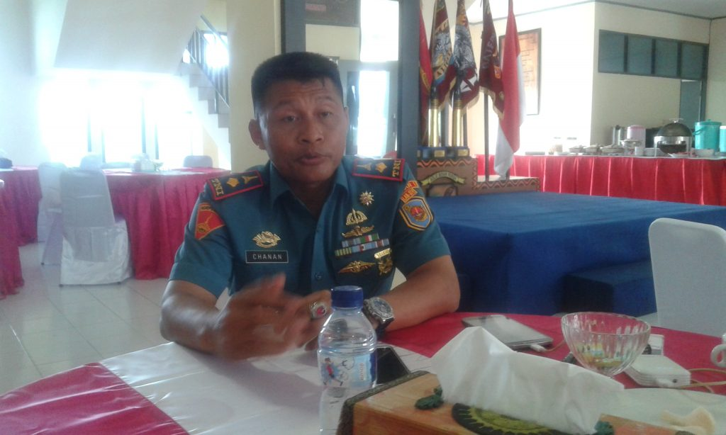 Komandan Yonmarhanlan Sorong, Mayor Muhammad Chanan. Dok/red