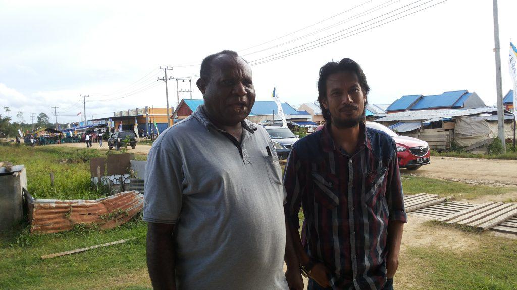 Direktur PT. FSM, H. Fadly (kanan). Dok/red