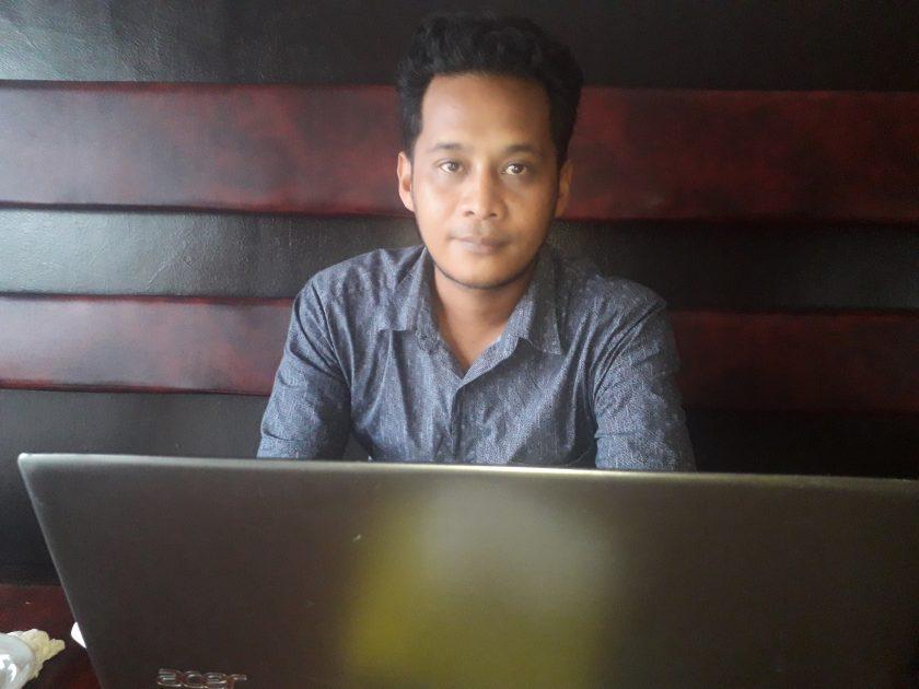 Ketua LBH Justitia Papua, Abdul Azis, SH. Dok/red