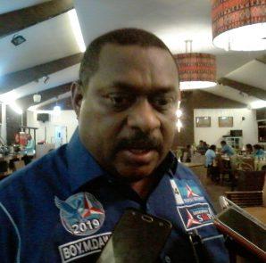 Wakil Sekretaris DPD Demokrat Provinsi Papua, Boy Markus Dawir. Dok/red