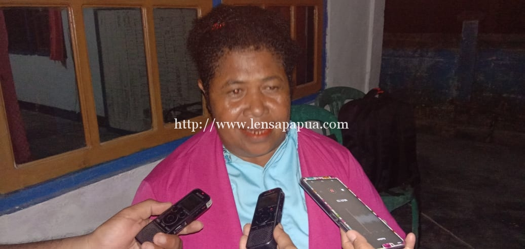 Badan Pekerja Klasis (BPK) GKI Klasia Numfor Bidang Pelayanan Sosial, Yustina Wawafma. Dok/red