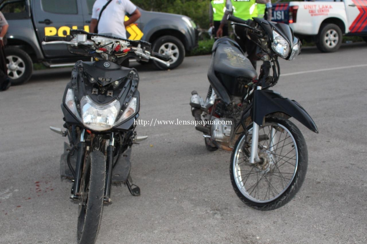 2 motor curian yang berhasil diamankan Polres Biak saat Operasi Cipta Kondisi. dok/red