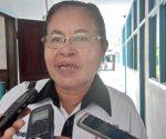 epala Sekretariat Komisi Penanggulangan Aids (KPA) Kabupaten Biak Numfor, Septherlina Rumbiak. dok/red