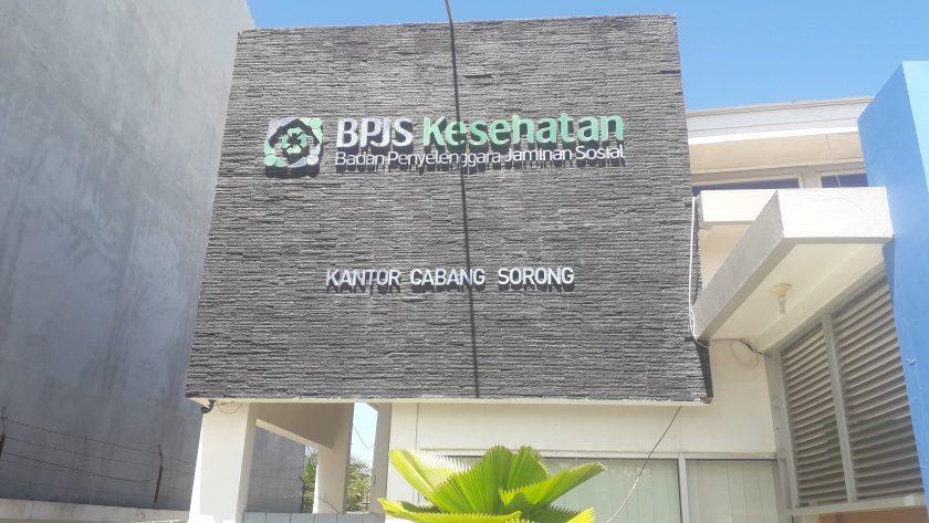 Kantor BPJS Kesehatan Cabang Sorong. Dok/red
