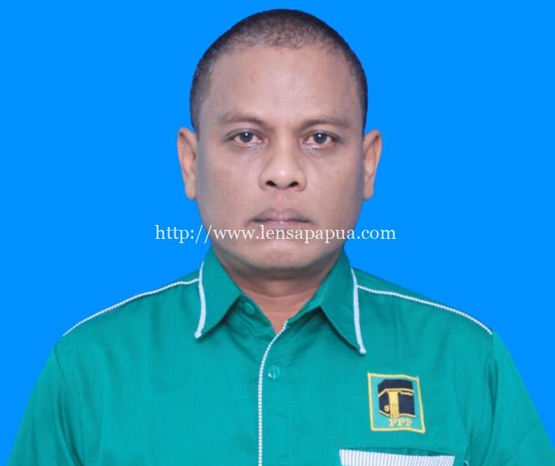 Wakil Ketua DPC PPP Biak, Firman. Dok/red