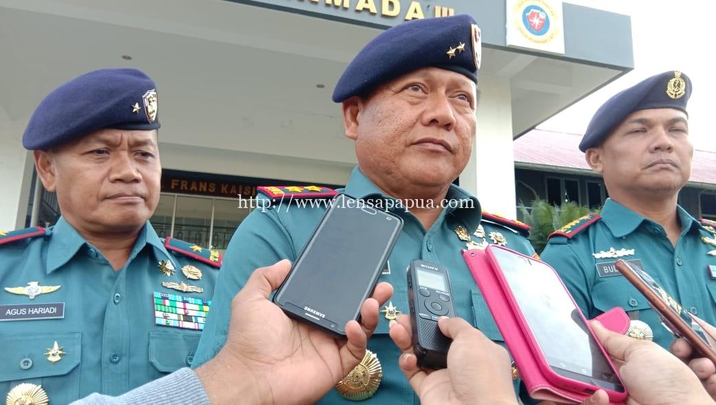 Panglima Komando Armada (PANGKOARMADA) RI III Laksamana Muda TNI I.N.G Ariawan S.E., M.M. dok/red