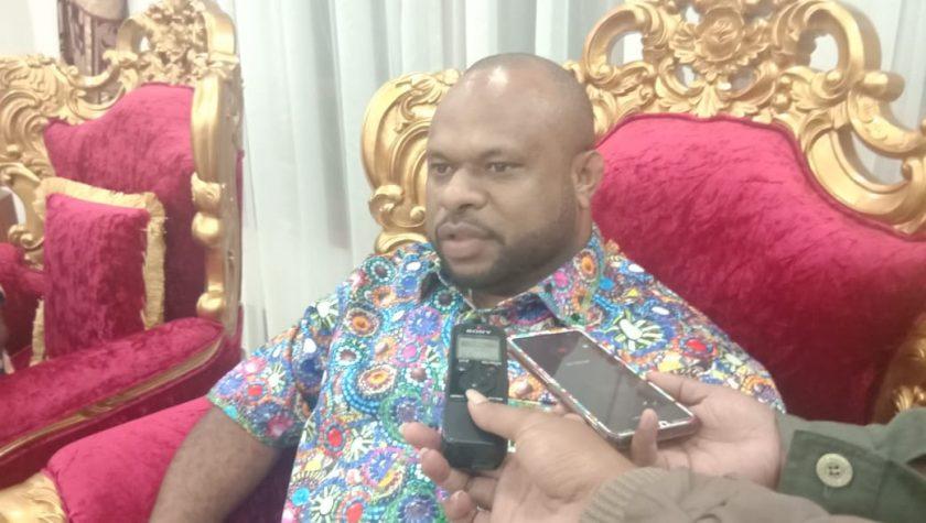 Ketua DPD KNPI Provinsi Papua, Albertho Gonzalez Wanimbo. Dok/red