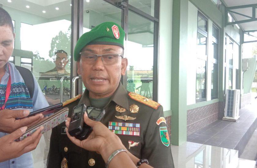 Komandan Korem 173 PVB, Brigjen TNI Bahman. Dok/red