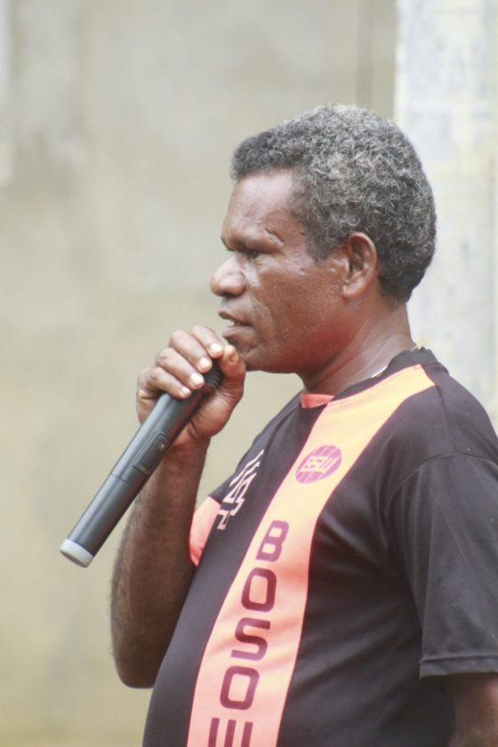 Kepala Kampung Mambesak Distrik Biak Utara Papua, Pithein Kafiar
