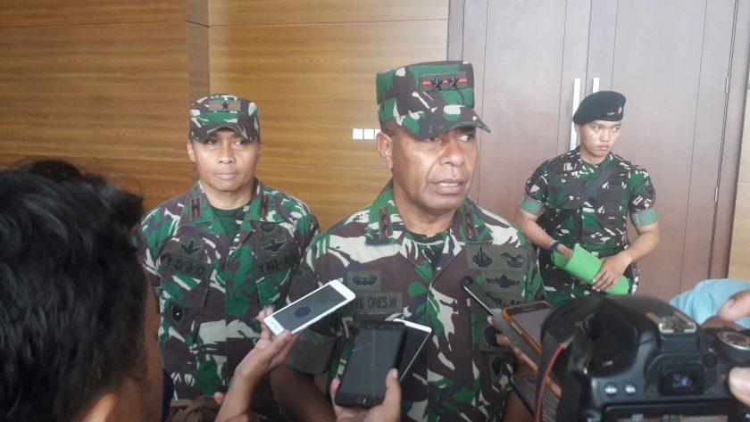 Pangdam XVIII Kasuari Papua Barat, Mayjen TNI Yoppie Onesimus Wayangkauw. Dok/red
