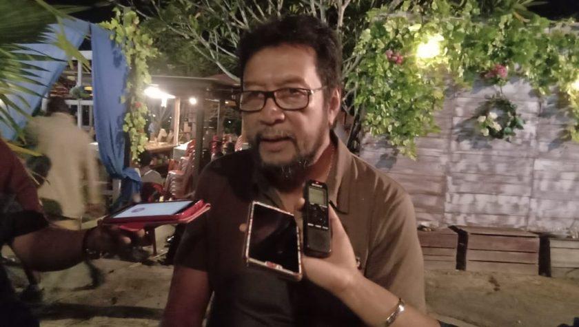 Caleg DPD RI dapil Provinsi Papua, Yorrys Raweyai. Dok/red