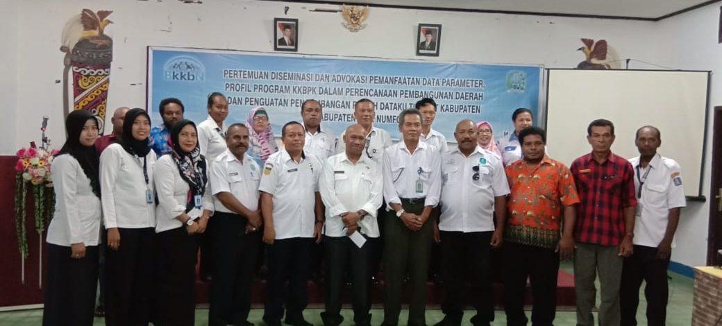 BKKBN Perwakilan Provinsi Papua Bentuk Rumah Dataku Di Setiap Kampung KB