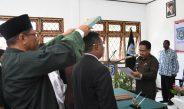 Wakil Bupati Sorong Lantik 7 Pejabat Administrator Dilungkup Capil