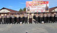 Gelar Apel Serpas, TNI-POLRI Biak Numfor Siap Amankan Pemilu 2019