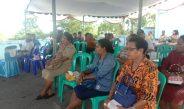 Tim Sanfar Bersama DP3AKB Biak Doa Bersama Para Caleg Perempuan Papua/Biak