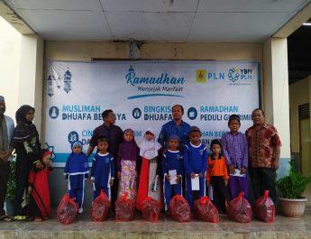 YBM PLN (Persero) UPK P2B ULPL Biak Berikan Santunan Kepada Para Mustahiq dan Buka Bersama