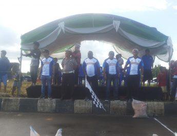Kadis Pariwisata Pemuda & Olahraga Kabupaten Sorong Buka Acara Kejurnas Drag Bike Seri 5