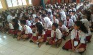 Pantau Masa Orientasi Lingkungan Kadisbud Sambangi SMP Negeri I Kabupaten Sorong