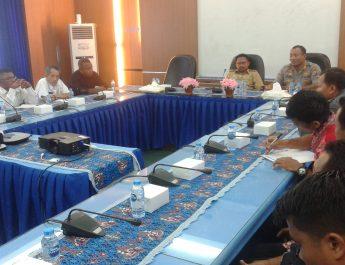 Antisipasi Meluasnya Demo Anarkis Wakil Bupati Sorong Pimpin Rapat Koordinasi Bersama Forkopimda