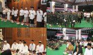 Forkopimda Kabupaten Pati Serta TNI-Polri Beristiqhosah Bersama Ulama Dan Umaroh