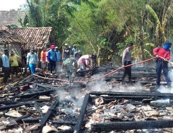 Sijago Merah Melalap Seisi Rumah Dan Hewan Piaraan Terpanggang Diwilayah Koramil Tambakromo