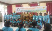 Bupati Sorong Lepaskan Kontingen Pesparani Ikuti Ajang Bergengsi Di Manokwari