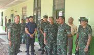 Kunjungan Kerja Pangdam IV/Diponegoro Dalam Rangka Tinjau Pembangunan Rumkit Ban 04.08.06 Pati