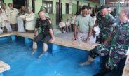 Setelah bekerja, Kini prajurit Kodim Pati bisa menikmati sensasi terapiikan