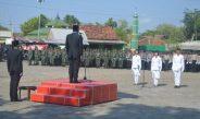 Kodim 0718/Pati Gelar Upacara Peringati Hari Pahlawan Di Halaman Taman Makam Pahlawan Giri Dharma Pati