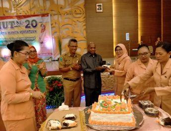 Ketua DWP Kabupaten Sorong: Tugas Berat Merangkul Seluruh Anggota