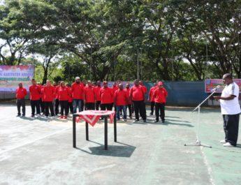 Bupati Sorong Minta Pengurus Perbasi Gairahkan Minat Generasi Muda Cintai Olahraga Basket