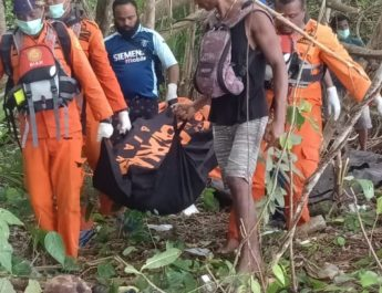 Korban Laka Laut Ditemukan Meninggal Dunia Dipinggir Pantai Kampung Andei