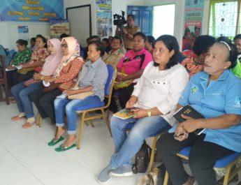 Cegah Stunting, DP3AKB Biak Gelar Sosialisasi di Kampung KB Distrik Biak Kota dan Samofa.