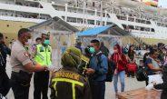Cegah Corona, Pelabuhan Biak Dijaga Ketat, Semua Penumpang Diperiksa
