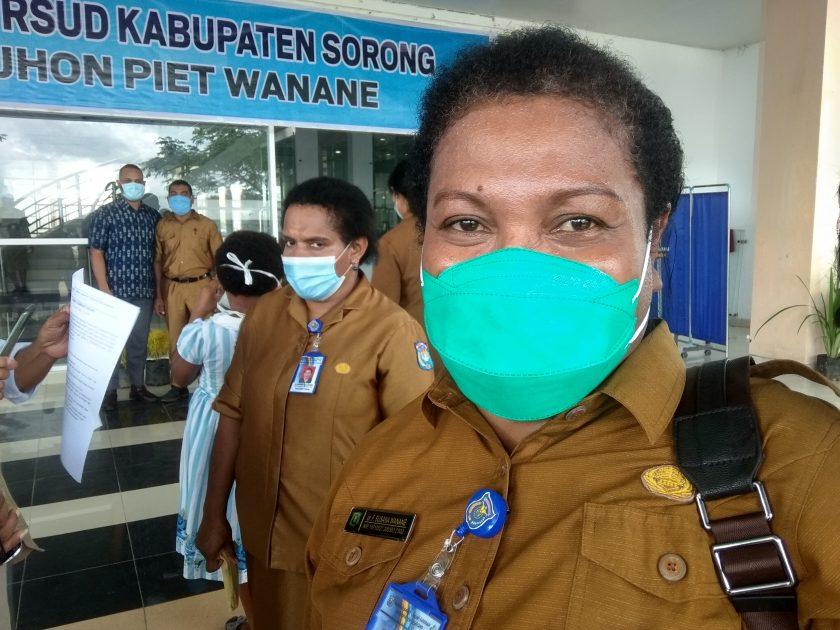Direktur RSUD Rujukan Kabupaten Sorong, dr. Frida Susi Wanane. Dok/red