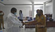 Cris .J. Tupamahu Jabat Plt Kepala BKD Kabupaten Sorong