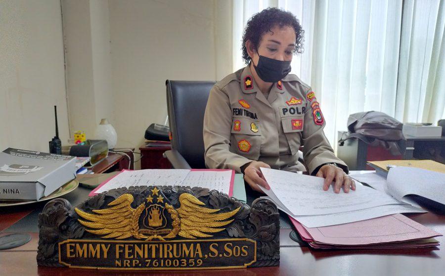Wakapolres Sorong, Kompol Emmy Fenitiruma, S.Sos dok/red