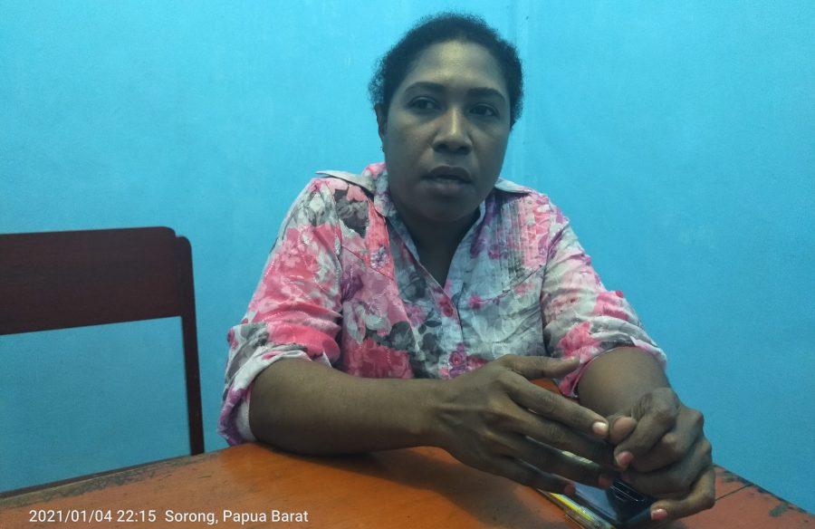 Anggota DPRD Papua Barat Fraksi OTSUS, Barnike Kalami. dok/red