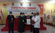 KPU Supiori Gelar Pleno Terbuka Penetapan Paslon Bupati & Wabup Kabupaten Supiori Terpilih
