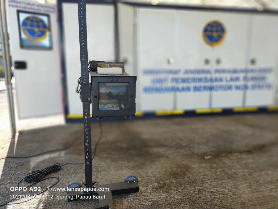 Unit uji lampu kendaraan Mobile Keur. Dok/red
