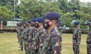 Brimob Biak Gelar Upacara HUT Ke-62 Pasukan Pelopor Korps Brimob Polri