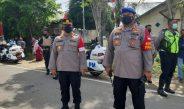 Kapolres Sorong Iwan P. Manurung Bersama 167 Personil  Pimpin Langsung Pengamanan Kunjungan Presiden RI. Jokowidodo di SP. 1 Aimas.